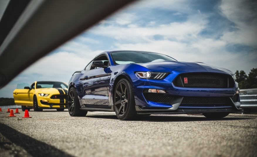 background - Legenda opět v hře: Shelby GT350