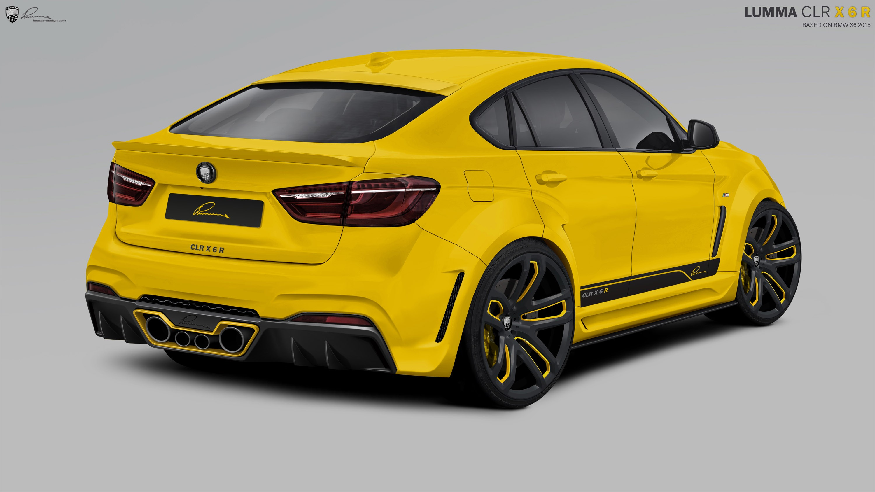 background - Speciální BMW X6 CLR R od Lumma Design