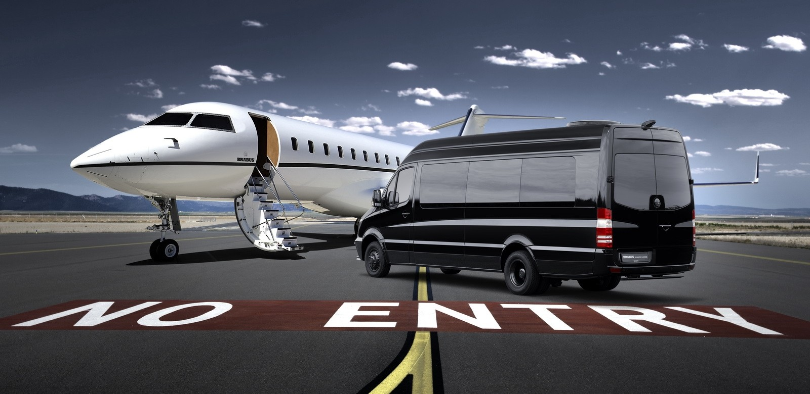 background - Brabus Conference Lounge alias Mercedes Sprinter