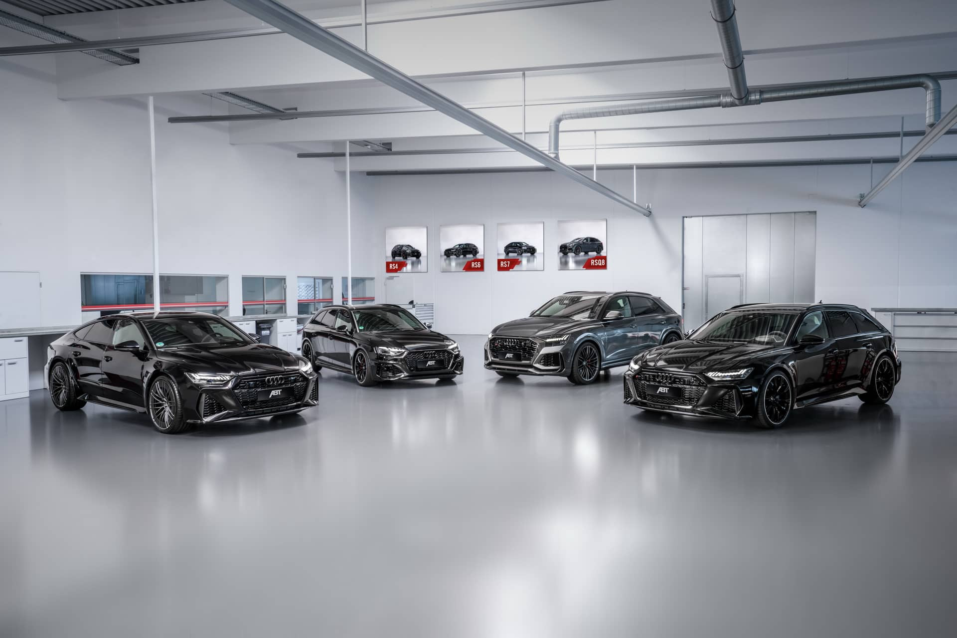 background - Nabroušená Audi RS7 Sportback z dílny ABT!